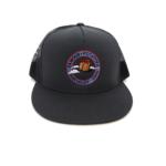 Famous Potatoes – Snapback Trucker Hat – Charcoal/Grey on Grey