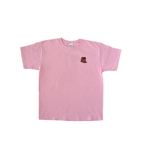 Famous Potatoes - Youth Short Sleeve Tee Pink