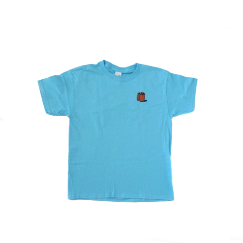 Famous Potatoes - Youth Short Sleeve Tee Sky Blue