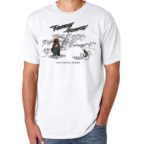 Famous Potatoes - Fly Fishing Potatoes Mens Short Sleeve-White