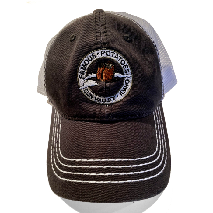 Famous Potatoes - Black/White Relaxed Hat